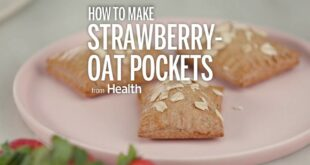 How to Make Strawberry Oat Pockets | Health