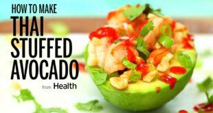 How to Make Thai Stuffed Avocado | Health