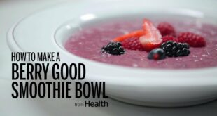 How to Make a Berry-Hemp Seed Smoothie Bowl | Health