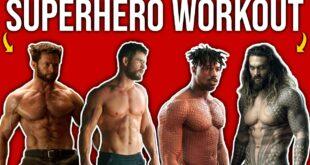 KILLER Superhero Home Workout (Celebrity Workout Tips!!)