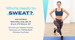 LIVE 30-Minute Tabata Fusion Workout With Kit Rich