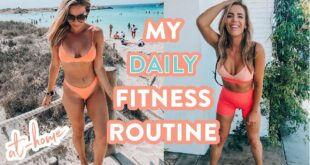 My Daily Fitness Routine // How I Keep off 45 lbs at Home!