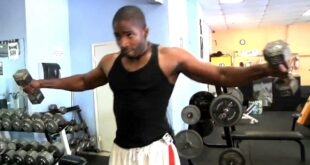 Shoulder Workout Taught by Celebrity Fitness Trainer Donovan Green
