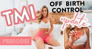 TMI - I Went off Birth Control! // Body Update + What I'm Using Now