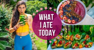 What I Ate Today | Life & Fitness Updates | FullyRaw Vegan