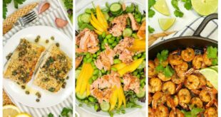 3 Easy Fish & Seafood Recipes   Healthy Meal Plans 2020