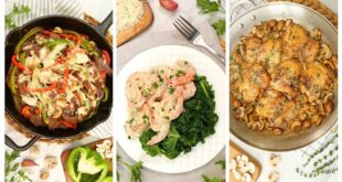 3 Low Carb Dinner Recipes   Quick + Easy Weeknight Dinner Ideas