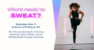 30-Minute LIVE Strength-Training Workout With Ashley Joi
