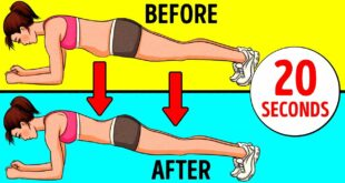 4-Minute Home Workout to Lose Belly Fat