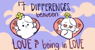 7 Differences Between Love and Being In Love
