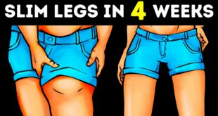 8-Minute Simple Workout to Lose Thigh Fat at Home