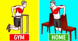 9-Minute Chair Workout Instead of Going to the Gym