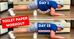A Full-Body Toilet Paper Workout You Can Do at Home