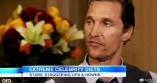 Celebrities` Extreme Diets for Movie Roles: Matthew McConaughey, Christian Bale Weight Los
