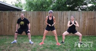 Celebrity Fitness Trainer Erin Oprea Trains Ashley & Hunter