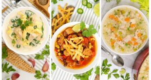 Chicken Soup - 3 Delicious Ways | Fall Recipes | Quick + Easy