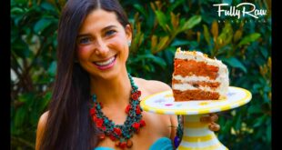FullyRaw Carrot Cake for My Birthday!