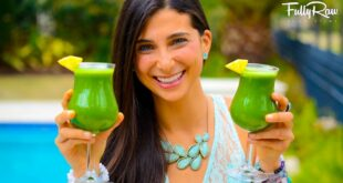 FullyRaw Piña Kale-ada Smoothies!