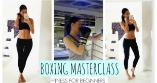 HOW TO BOX FT CELEBRITY GYM KOBOX | Beauty's Big Sister