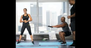 Home Celebrity Fitness with Roy Jones Jr, Melissa Gorga, and Lindsey Pelas