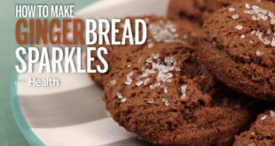 How to Make Gingerbread Sparkles
