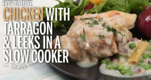 How to Make Slow Cooker Chicken with Tarragon and Leeks