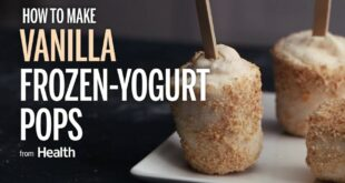 How to Make Vanilla Frozen Yogurt Pops  | Health