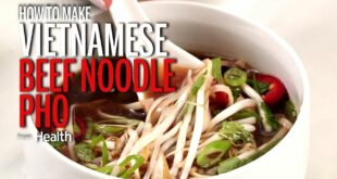 How to Make Vietnamese Beef Noodle Pho