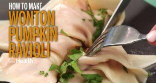 How to Make Wonton Pumpkin Ravioli