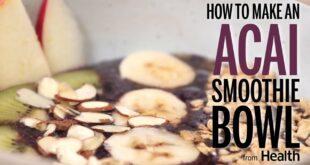 How to Make an Açai Smoothie Bowl