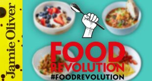Jamie Oliver's 10 Food Revolution Recipes | #foodrevolution
