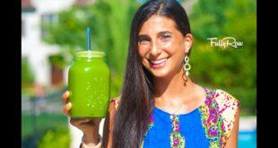Jugo Verde para Bajar de Peso (Green Juice for Weight Loss)