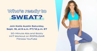 LIVE 30-Minute Ab and Booty HIIT Workout With Katie Austin