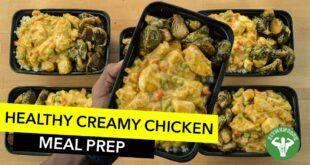 Meal Prep - Creamy Butternut Chicken & Rice / Arroz con Pollo con Calabaza