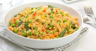 Veggie Fried Rice   Quick + Easy Pantry Recipe   Cook With Me