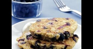 Fat-Burning Recipe: Blueberry Oat Pancakes with Maple Yogurt | Health