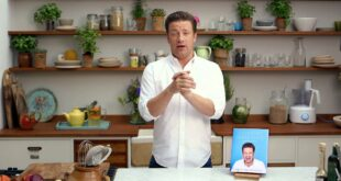 Jamie Oliver talks about his new book Everyday Super Food