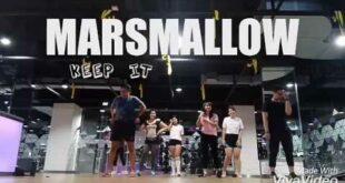 Marshmallow - keep it mello dance cover (hip hop dance celebrity fitness raw class)