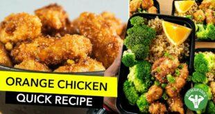 Meal Prep - Orange Chicken Recipe  / Pollo a la Naranja