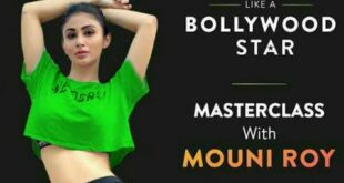 Mouni Roy Dance Workout MasterClass Celebrity Fitness Trainer Cult.fit Live