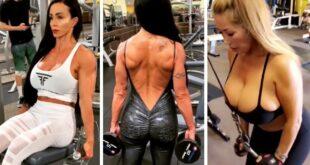 Pornstar Love |33| Sexy Hot American B Movie Actress Celebrity Workout Beautiful Girls Pumping Iron