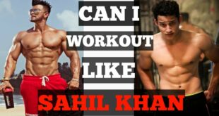 Sahil khan Workout Routine ||CELEBRITY WORKOUT|| EPISODE :- 01||