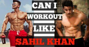 Sahil khan Workout Routine ||CELEBRITY WORKOUT|| EPISODE :- 01||