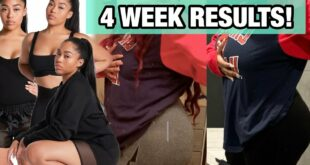 "TRYING JORDYN WOODS NEW WORKOUT PLAN ""FRSTPLACE""
