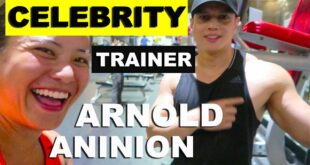 Who is this celebrity fitness trainer talking about? Arnold Aninion + Isabelle Daza