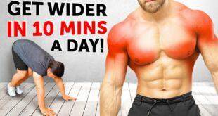 10-Min Home Exercises to Get Wider Shoulder and Huge Back