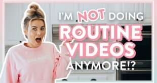 I'm NOT Doing Routine Videos Anymore!?