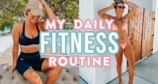 My Daily Fitness Routine | What I Eat, Best Cheap Leggings + My Supplements