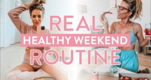 My HEALTHY Weekend Routine | Workouts + Staying Productive