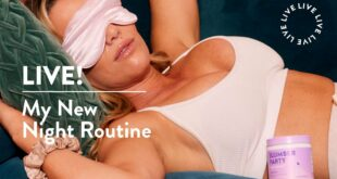My Night Routine LIVE!   Protein & Slumber Party